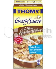 Produktabbildung: Thomy Gratin Sauce für Ofen-Geschnetzeltes 350 ml
