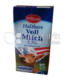 Produktabbildung: Milbona Haltbare Vollmilch 1 l