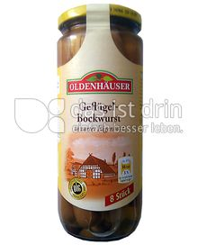 Produktabbildung: Oldenhäuser Geflügel-Bockwurst 550 g