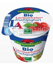 Produktabbildung: Schwarzwaldmilch Bio Lactosefreier Fruchtjoghurt Himbeere 150 g