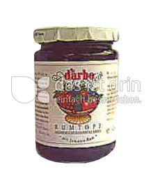 Produktabbildung: D'arbo Naturrein Mehrfrucht Konfitüre Exra Rumtopf 450 g