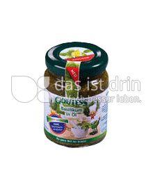 Produktabbildung: Goutess Basilikum in Öl 90 g