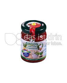 Produktabbildung: Goutess Roter Chili in Apfelessig 90 g