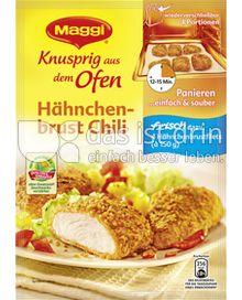 Produktabbildung: Maggi Knusprig aus dem Ofen Hähnchenbrust Chili 120 g