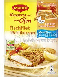 Produktabbildung: Maggi Knusprig aus dem Ofen Fischfilet Mediterran 120 g