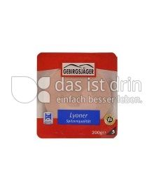 Produktabbildung: Gebirgsjäger Lyoner 200 g