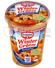 Produktabbildung: Dr. Oetker Winter Grütze Bratapfel 500 g