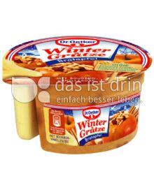 Produktabbildung: Dr. Oetker Winter Grütze Bratapfel mit Bourbon-Vanille-Soße 160 g