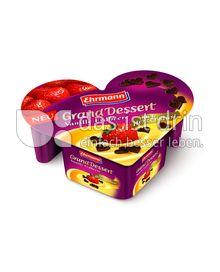 Produktabbildung: Ehrmann Grand Dessert nach Herzenslust Vanille Erdbeere 150 g