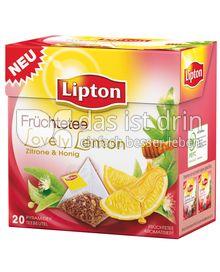 Produktabbildung: Lipton Lovely Lemon 20 St.