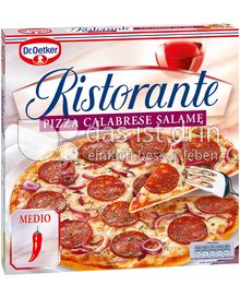Produktabbildung: Dr. Oetker Ristorante Pizza Calabrese Salame 330 g