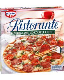 Produktabbildung: Dr. Oetker Ristorante Pizza Salame Mozzarella Pesto 360 g