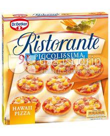 Produktabbildung: Dr. Oetker Ristorante Piccolissima Pizza Hawaii 310 g