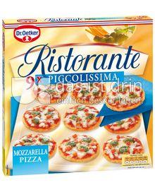 Produktabbildung: Dr. Oetker Ristorante Piccolissima Pizza Mozzarella 265 g