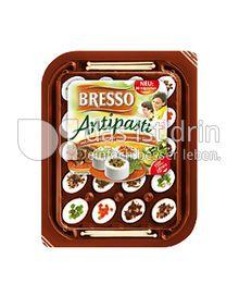 Produktabbildung: Bresso Antipasti mit Champignons & mediterranem Gemüse 100 g