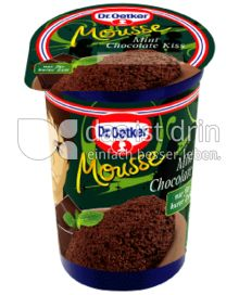 Produktabbildung: Dr. Oetker Mousse Mint Chocolate Kiss 100 g