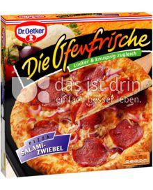 Produktabbildung: Dr. Oetker Die Ofenfrische Salami-Zwiebel 415 g
