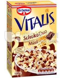 Produktabbildung: Vitalis Schoko Duo Müsli 500 g