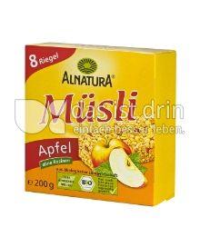 Produktabbildung: Alnatura Müsli Apfel 200 g