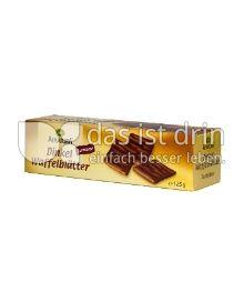 Produktabbildung: Alnatura Dinkel Waffelblätter Zartbitter 125 g
