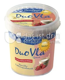 Produktabbildung: Zuivelhoeve Duo Vla Genuss Vanille & Erdbeere 800 g