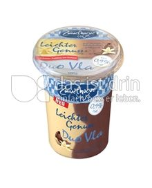 Produktabbildung: Zuivelhoeve Vla Leichter Genuss Schoko-Vanille 500 g
