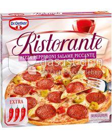 Produktabbildung: Dr. Oetker Ristorante Pizza Pepperoni Salame Piccante 340 g