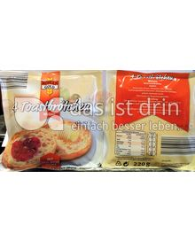 Produktabbildung: Mühlen Gold Toastbrötchen 220 g