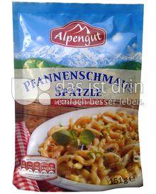 Produktabbildung: Alpengut Pfannenschmaus Spätzle 151 g