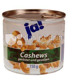 Produktabbildung: ja! Cashews 150 g
