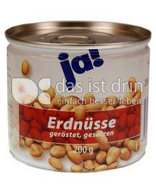 Produktabbildung: ja! Erdnüsse 200 g