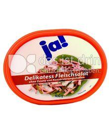 Produktabbildung: ja! Delikatess Fleischsalat 400 g