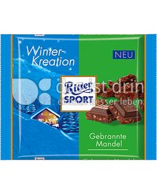 Produktabbildung: Ritter Sport Gebrannte Mandel 100 g