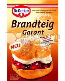 Produktabbildung: Dr. Oetker Brandteig Garant