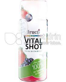 Produktabbildung: Fructi Vitalshot Erdbeere / schwarze Johannisbeere 60 ml