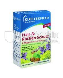 Produktabbildung: Klosterfrau Broncholind Hals & Rachen Schutz 2-Phasen Lutschtabletten 30 St.