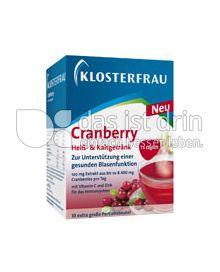 Produktabbildung: Klosterfrau Cranberry Heiß- & Kaltgetränk 10 St.