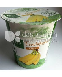 Produktabbildung: Aldi bio Fruchtjoghurt Banane 150 g