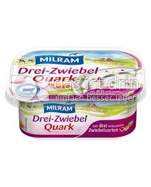Produktabbildung: MILRAM Drei-Zwiebel-Quark 200 g