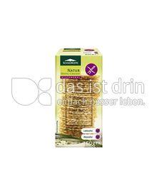 Produktabbildung: Schneekoppe Natur Waffel-Cracker 60 g
