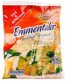 Produktabbildung: Gut & Günstig Emmentaler gerieben 200 g