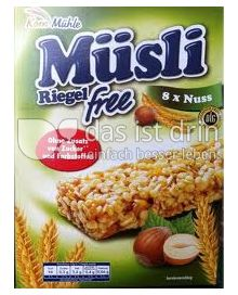 Produktabbildung: Kornmühle Müsli Riegel free Nuss 8 St.