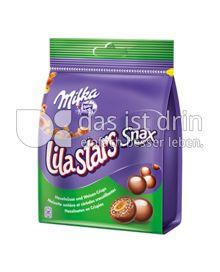 Produktabbildung: Milka Lila Stars Snax 140 g