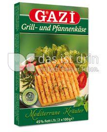 Produktabbildung: GAZI Grill- und Pfannenkäse Mediterrane Kräuter 200 g