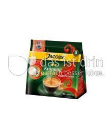Produktabbildung: Jacobs Krönung Crema entkoffeiniert Kaffeepads 16 St.
