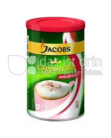 Produktabbildung: Jacobs Krönung Cappuccino entkoffeiniert 220 g