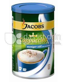 Produktabbildung: Jacobs Krönung Cappuccino weniger Süß im Geschmack 220 g