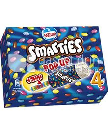 Produktabbildung: Nestlé Smarties Pop Up Ice Cream Multipackung 360 ml