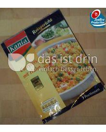 Produktabbildung: Kania Reisgericht Curryreis mit Huhn 160 g