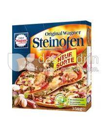 Produktabbildung: Original Wagner Steinofen Pizza Pilze Rauchfleisch 350 g